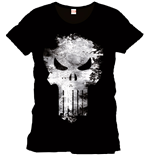 Punisher T-Shirt Distress Skull