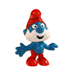 The Smurfs Figure Papa Smurf 6 cm Case (6)