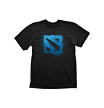 DEFENSE OF THE ANCIENTS (DOTA) 2 Logo Medium T-Shirt, Black
