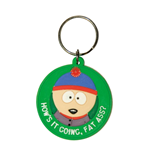 South Park Rubber Keychain Stan - Fat Ass 6 cm