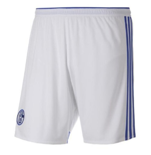 2014-15 Schalke Adidas Home Shorts