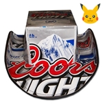 COORS Light Beer Hats Cowboy Black Trim