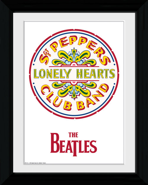 The Beatles Sgt. Pepper Collector Print