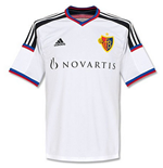 2014-15 FC Basle Adidas Away Football Shirt