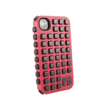 G-FORM iPhone 4 / 4S Extreme Grid Case, Red Case/Black RPT