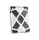 G-FORM Extreme Clip-On Case for iPad, Silver/Black RPT