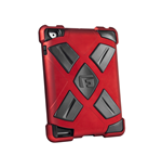 G-FORM Extreme Clip-On Case for iPad, Red/Black RPT