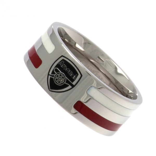 Arsenal F.C. Colour Stripe Ring Medium