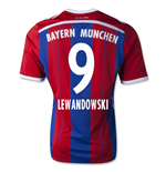 2014-15 Bayern Munich Home Shirt (Lewandowski 9)