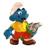 The Smurfs Figure Golfer Smurf 6 cm Case (6)