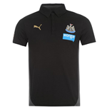 2014-15 Newcastle Puma Leisure Polo Shirt (Black) - Kids