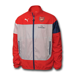 2014-2015 Arsenal Puma Leisure Jacket (Red)