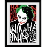 Batman The Dark Knight Rises Joker Ha Framed Collector Print