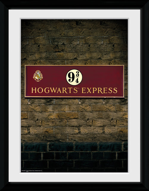 Harry Potter Platform 9 3/4 Framed Collector Print