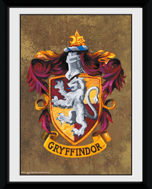 Harry Potter Gryffindor Framed Collector Print