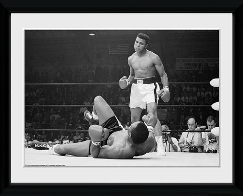 Muhammad Ali Liston 2 Framed Collector Print