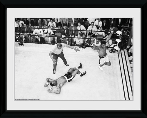 Muhammad Ali Knock Out Framed Collector Print