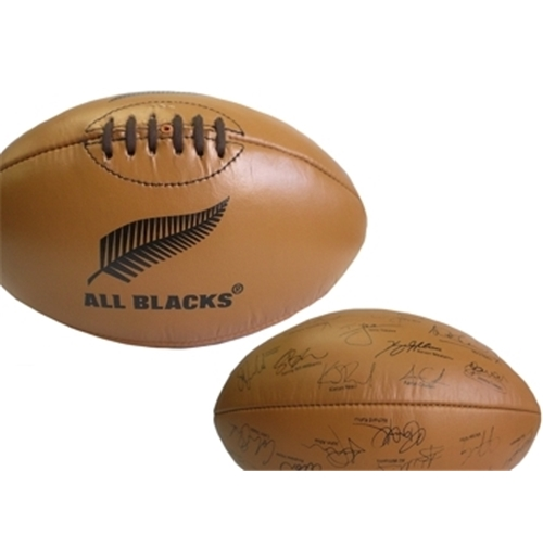 All Blacks Retro Rugby Ball