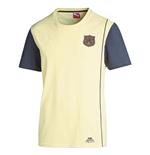 2014-2015 Arsenal Puma Archives Ringer Tee (Yellow)