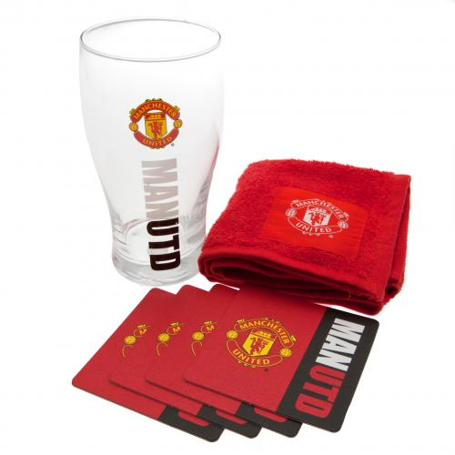 Manchester United F.C. Mini Bar Set
