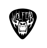 "Fender ""Heavy"" Guitar Pick - WOLFEAR"