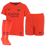 2014-2015 Barcelona Away Nike Baby Kit