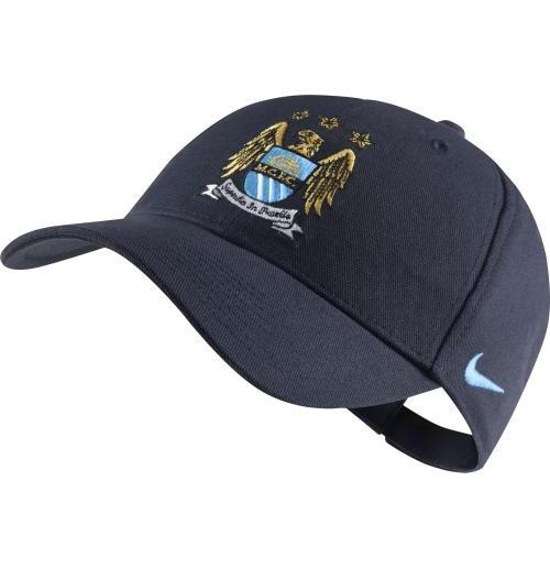 Buy Official 2014-2015 Man City Nike Core Baseball Cap (Navy) a8c1f438d0b