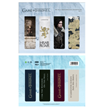 Game of Thrones Magnetic Bookmark Set C