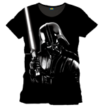 Star Wars T-Shirt Silver Darth Vader