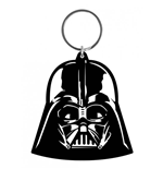 Star Wars Rubber Keychain Darth Vader 6 cm