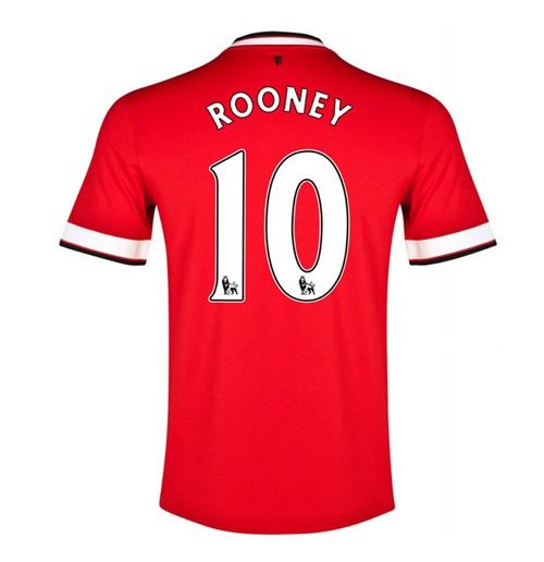 2014-15 Manchester United Home Shirt (Rooney 10) - Kids
