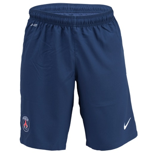 2014-2015 PSG Home Nike Football Shorts (Kids)