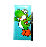 NINTENDO SUPER MARIO BROS. Girls Yoshi Purse Wallet, Turquoise