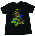 TEENAGE MUTANT NINJA TURTLES (TMNT) Kid's Lean, Mean, Green T-Shirt, 104/110, Black