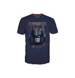 TRANSFORMERS Fall of Cybertron Optimus Fire Small T-Shirt, Blue