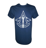 ASSASSIN'S CREED Unity Logo Small T-Shirt, Blue