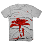 DEAD ISLAND The Tree Small T-Shirt, Grey