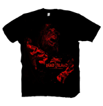 DEAD ISLAND Red Zombie Extra Large T-Shirt, Black