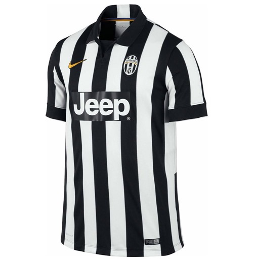 2014-2015 Juventus Home Nike Football Shirt (Kids)