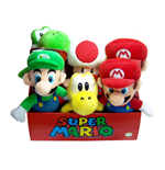 Super Mario Bros. Plush Figures 20 cm Assortment (6)