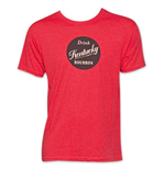 Kentucky Bourbon Drink Bourbon Red Tee Shirt