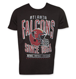 Junk Food Black ATLANTA FALCONS 1966 NFL T-Shirt