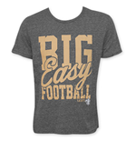 Junk Food NFL NEW ORLEANS SAINTS Big Easy Football Tee Shirt