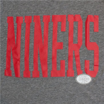Junk Food NFL Grey SAN FRANCISCO 49ERS Niners Tee Shirt
