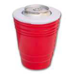 Red Solo Party Cup Novelty Foam Can Cooler Koozie