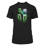 Minecraft Premium T-Shirt Three Creeper Moon