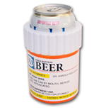 Prescription Beer Bottle Novelty Can Cooler Koozie
