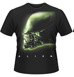 Alien T-shirt Head