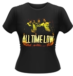 All Time Low T-shirt Metal Finger