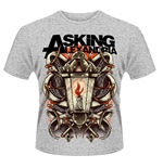 Asking Alexandria T-shirt Candle